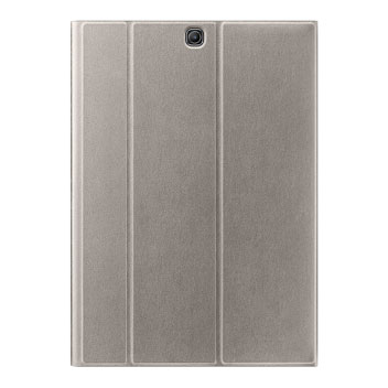 Official Samsung Galaxy Tab S2 9.7 Book Cover Case - Silver