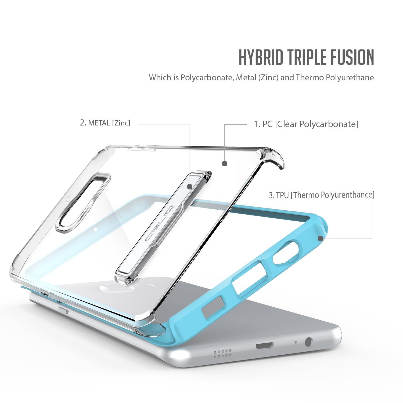 Obliq Naked Shield Series Samsung Galaxy S6 Edge Plus Case - Blue