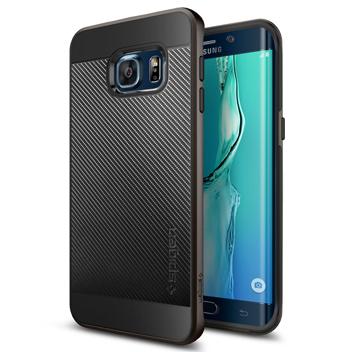 Spigen Neo Hybrid Carbon Samsung Galaxy S6 Edge+ Case - Gunmetal