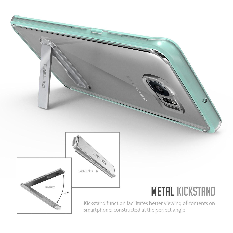 Obliq Naked Shield Series Samsung Galaxy S6 Edge Plus Case - Green