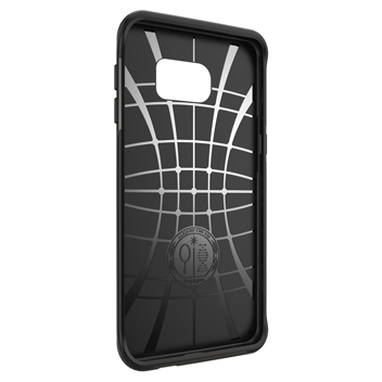 Spigen Neo Hybrid Carbon Samsung Galaxy S6 Edge+ Case - Metal Slate