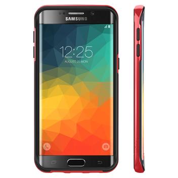 Spigen Neo Hybrid Carbon Samsung Galaxy S6 Edge+ Case - Dante Red