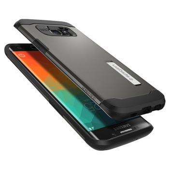 Spigen Slim Armor Samsung Galaxy S6 Edge+ Case - Gunmetal