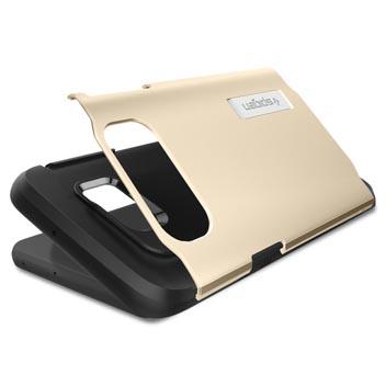 Spigen Slim Armor Samsung Galaxy S6 Edge+ Case - Champagne Gold