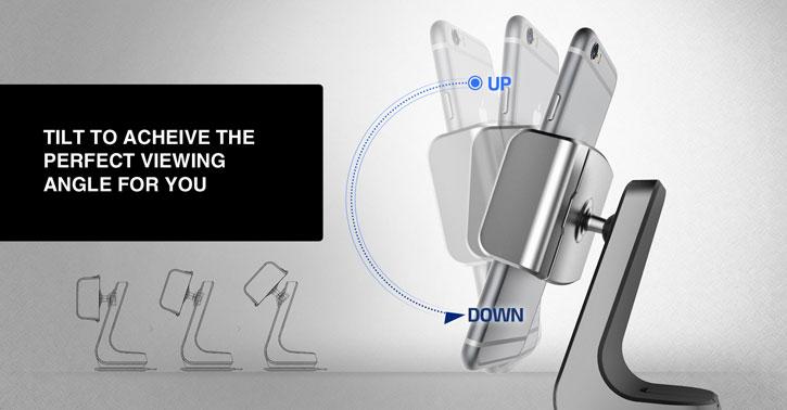 Support Voiture Verus Hybrid Universal - Noir / Argenté