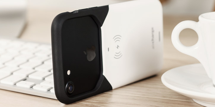 aircharge Qi iPhone 6 Wireless Charging Case with MFi - Black / White