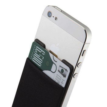Smart Wallet Universal Smartphone Pouch - Black