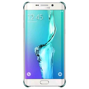 Official Samsung Galaxy S6 Edge+ Glitter Cover Case - Blue