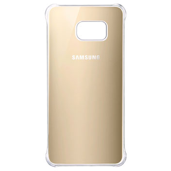 Official Samsung Galaxy S6 Edge Plus Glossy Cover Case - Gold