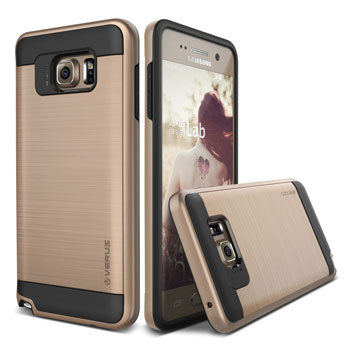 Verus Verge Series Samsung Galaxy Note 5 Case - Shine Gold