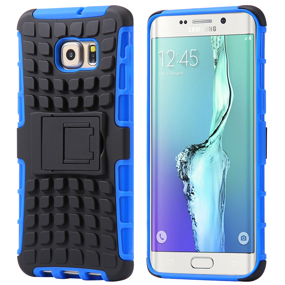 ArmourDillo Samsung Galaxy S6 Edge Plus Protective Case - Blue