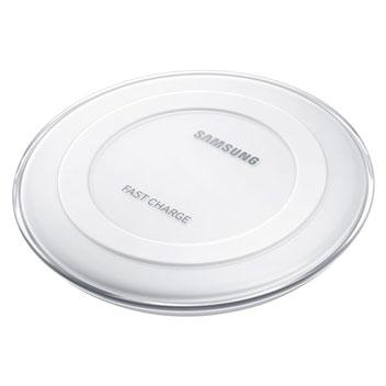 Plaque de chargement Samsung Galaxy Sans Fil Qi Charge Rapide - Blanc