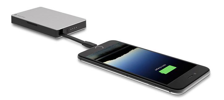 Mophie PowerStation Plus 3X with Lightning Connector 5,000mAh - Black
