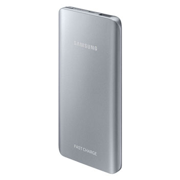 Samsung Portable 5,200mAh Fast Charge Battery Pack - Silver