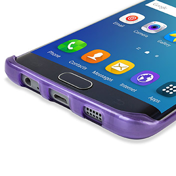 FlexiShield Samsung Galaxy S6 Edge Plus Gel Case - Purple
