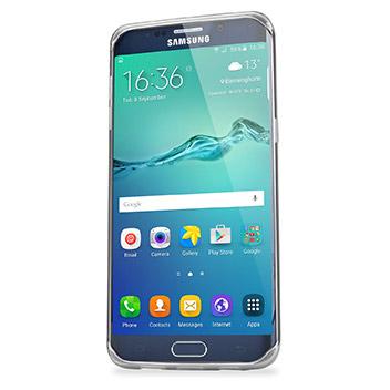 FlexiShield Samsung Galaxy S6 Edge Plus Gel Case - Frost White