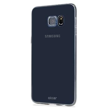 Olixar FlexiShield Ultra-Thin Samsung Galaxy S6 Edge Plus Case - Clear