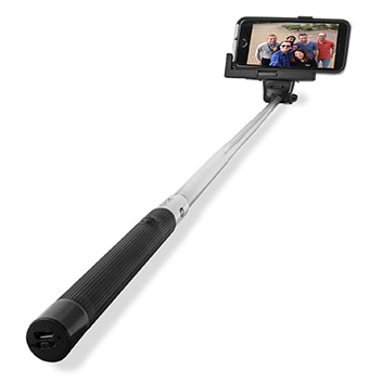 how to use selfie stick with iphone