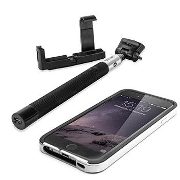 olixar bluetooth iphone selfie stick. Black Bedroom Furniture Sets. Home Design Ideas