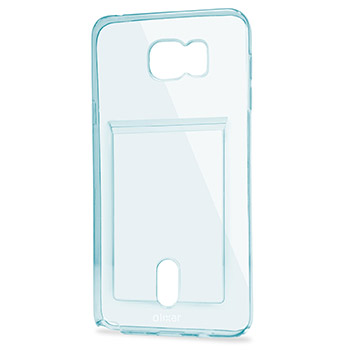 FlexiShield Slot Samsung Galaxy Note 5 Gel Case - Blue Tint