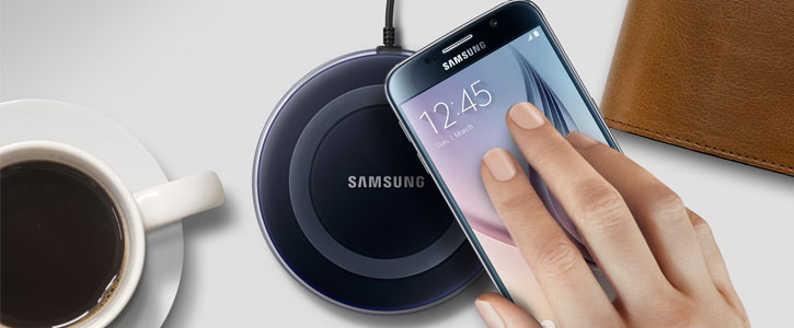 Official Samsung Galaxy S6 Edge+ Wireless Charging Pad - Black