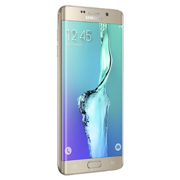 SIM Free Samsung Galaxy S6 Edge+ 64GB - Gold Platinum