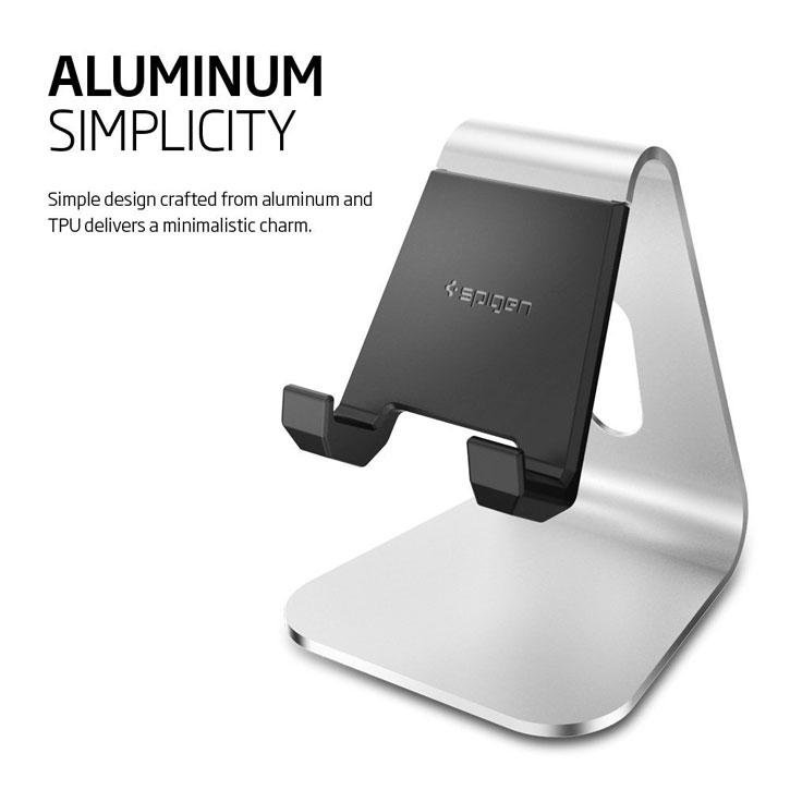 Support Bureau Spigen S310 - Aluminium