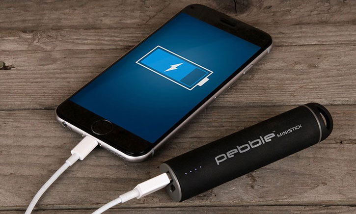 Veho Pebble Mini Stick Portable Power Bank - Black