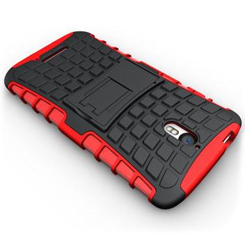 ArmourDillo Motorola Moto X Play Protective Case - Red