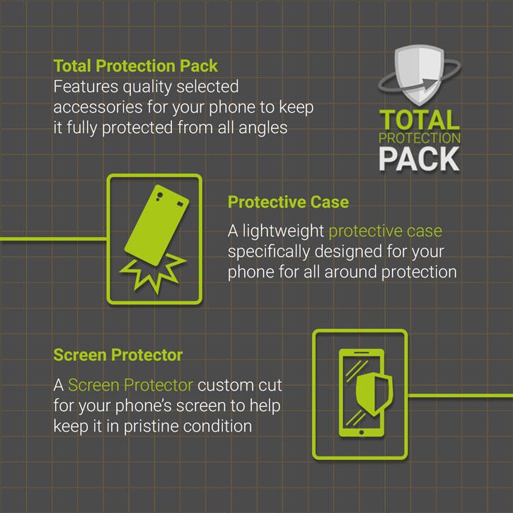 Olixar Total Protection Samsung Galaxy S6 Edge Case & Screen Protector