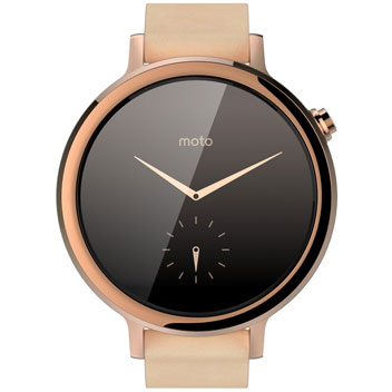 Motorola Moto 360 2nd Gen SmartWatch 42mm - Rose Gold