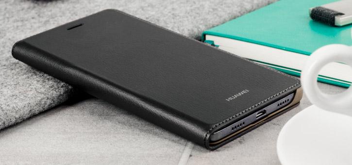 Official Huawei P8 Lite Flip Cover Case - Black