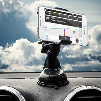 Olixar DriveTime Samsung Galaxy S5 Mini Car Holder & Charger Pack