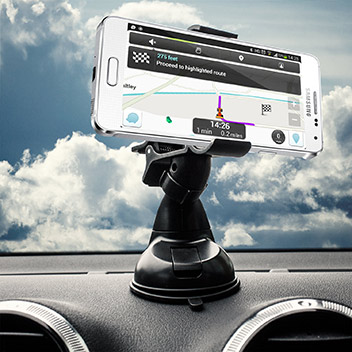 Olixar DriveTime Samsung Galaxy Alpha Car Holder & Charger Pack