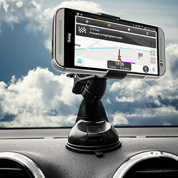 Olixar DriveTime HTC One M8 Car Holder & Charger Pack
