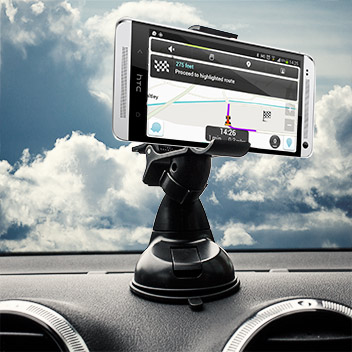 Olixar DriveTime HTC One M7 Car Holder & Charger Pack