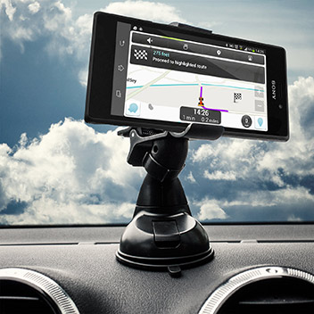 Olixar DriveTime Sony Xperia M2 Car Holder & Charger Pack