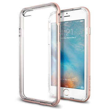 Spigen Neo Hybrid Ex iPhone 6S / 6 Bumper Case - Rose Gold