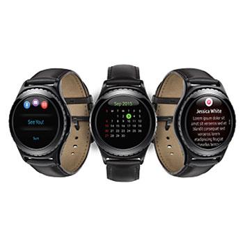 Samsung Gear S2 Classic Smartwatch - Black
