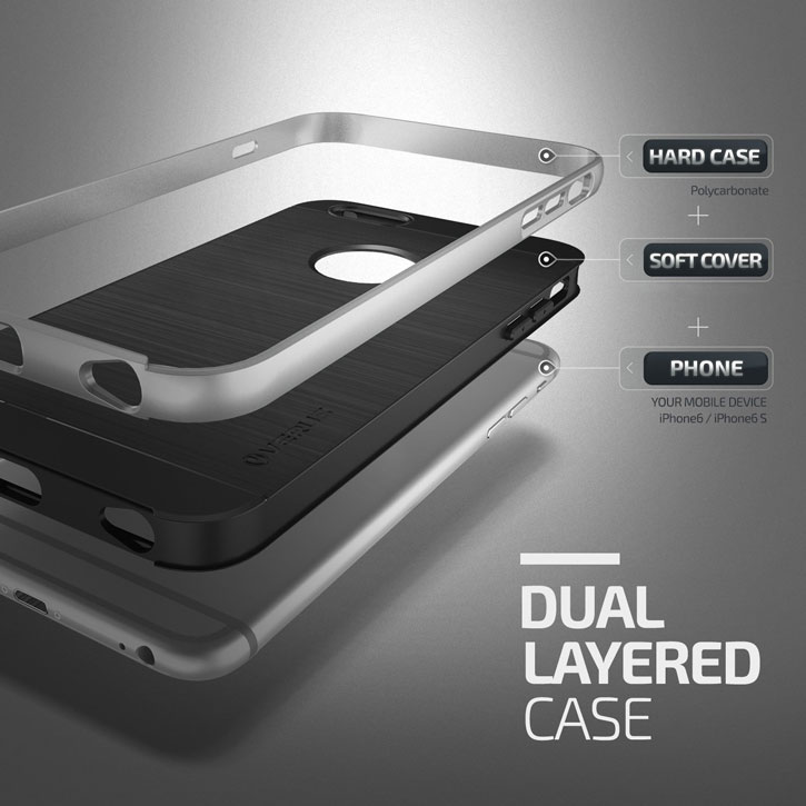 Verus High Pro Shield Series iPhone 6S Case - Satin Silver