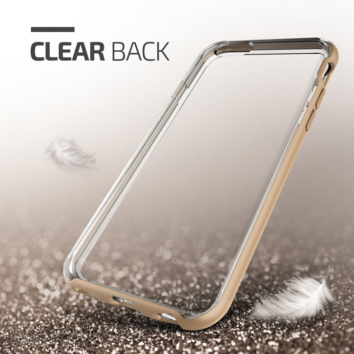 Verus Crystal Bumper iPhone 6S Case - Champagne Gold