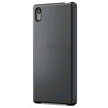 Sony Xperia Z5 Style-Up Smart Window Cover Case - Black