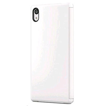 Sony Xperia Z5 Style-Up Smart Window Cover Case - White