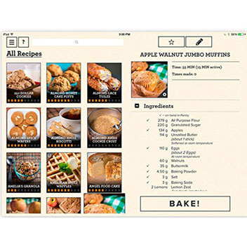 Kit Patisseries Perfect Bake Connecté