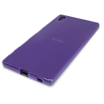 FlexiShield Sony Xperia Z5 Case - Purple