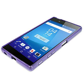 FlexiShield Sony Xperia Z5 Case - Purple