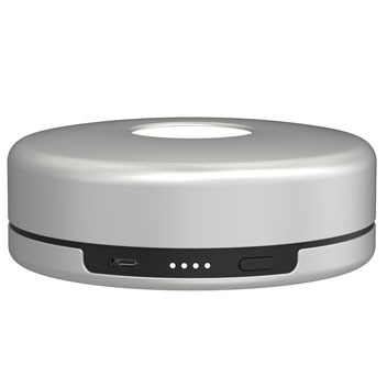 Nomad Pod Apple Watch Portable Charger - Silver