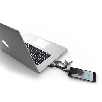 NomadCLIP Carabiner Lightning to USB Cable