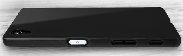 FlexiShield Sony Xperia Z5 Case - Solid Black