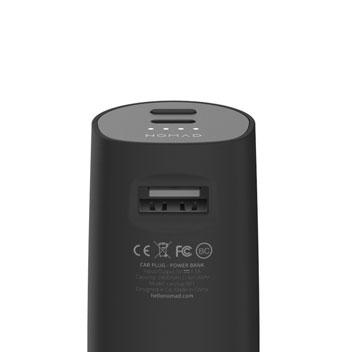 Nomad Road Trip USB-C & Universal Car Charger & 3000mAh Power Bank
